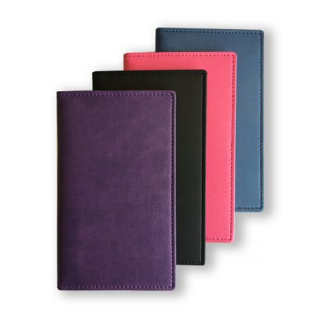 Soft Touch Wallet with Pocket Weekly (Portrait) Diary Insert